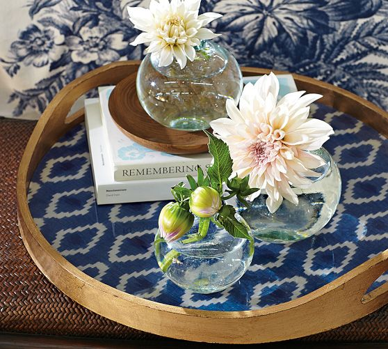 Pottery Barn - Esta Ikat Tray, $71