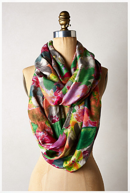 Anthropologie - Washed Garden Infinity Scarf, $58
