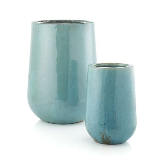 Crate and Barrel - Jada Planters, $39.96 - $79.96 (sale)