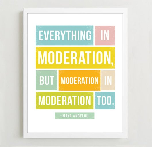 Maya Angelou Quote Moderation