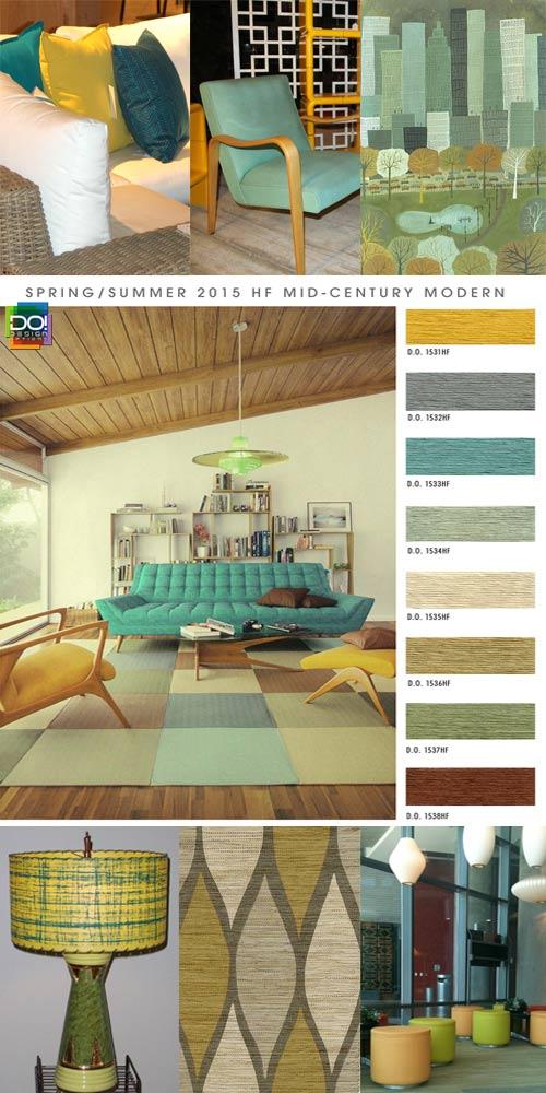 Spring Summer 2015 Interior Trends from Design Options   Blue Bergitt