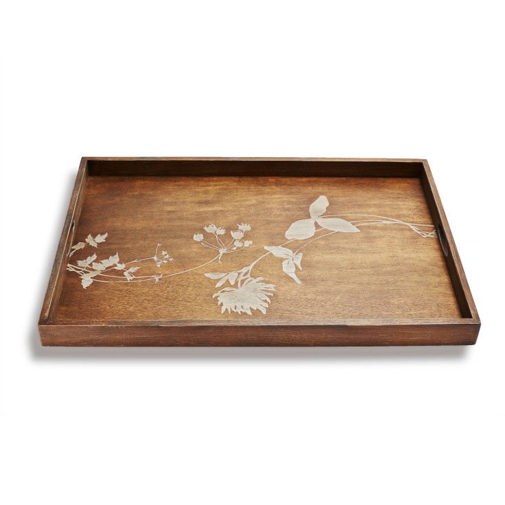 ABC Carpet - Reflect Thistle Tray, $150