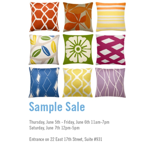 Judy Ross Sample Sale