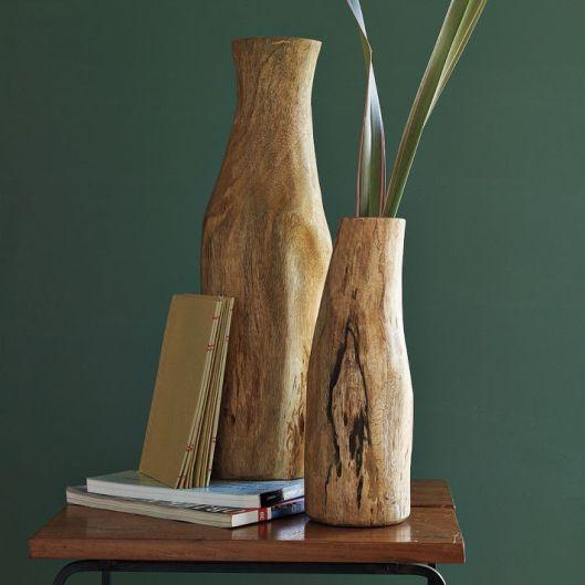 West Elm - Log Vases, $19 - $29