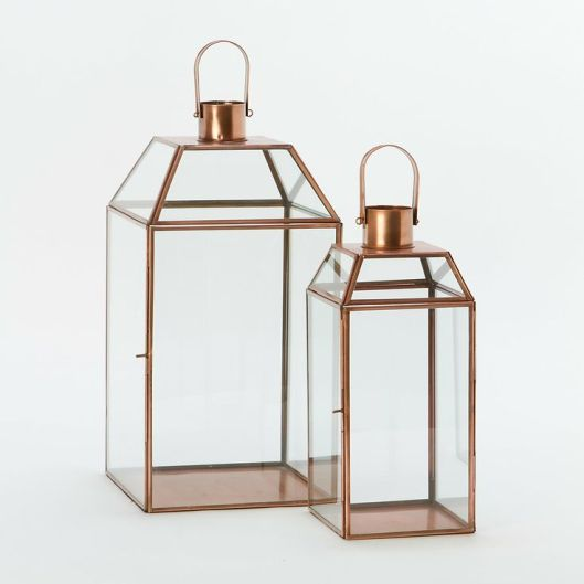Terrain - Copper Mansard Lantern, $68 - $98