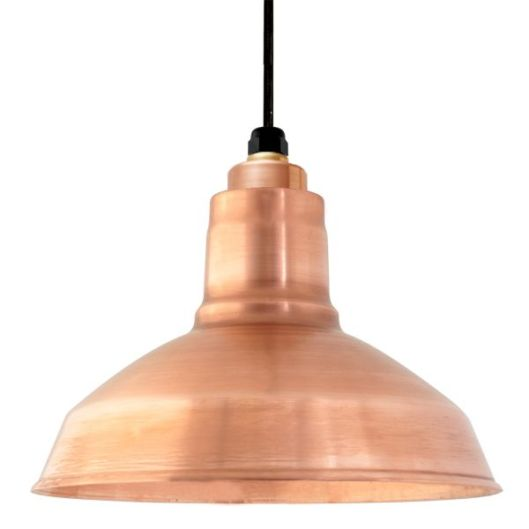 Barn Light Electric - Drake Copper Pendant, $199