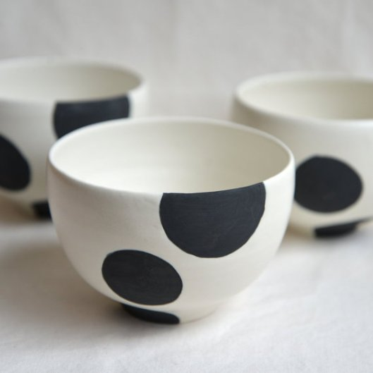 Cafe au lait bowl with spot, $37