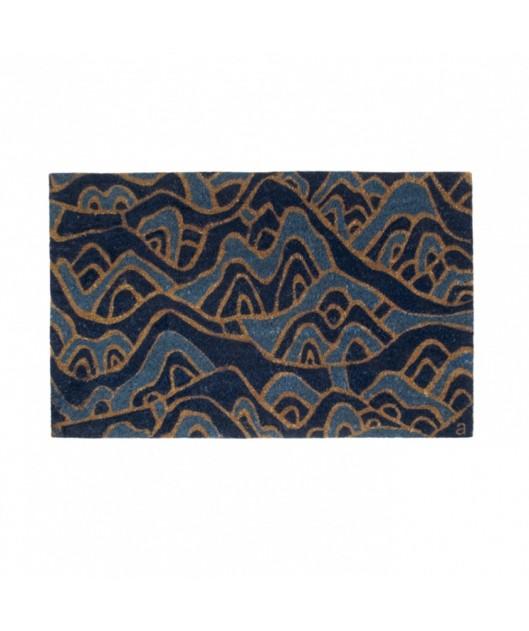 Angela Adams - Mountain Doormat, $45