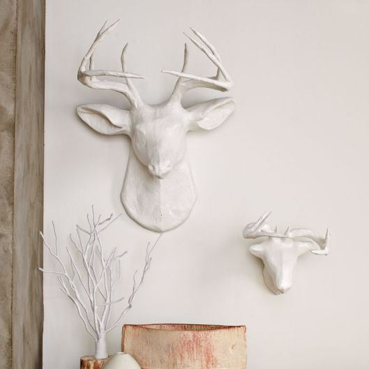West Elm - Paper Mache Animal Sculptures, $84