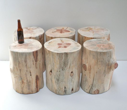 Real Wood Works 1 - Stump Table, $219