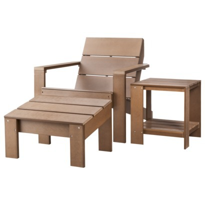 Target - Threshold Bryant 3-piece Adirondack set, $238 (sale)