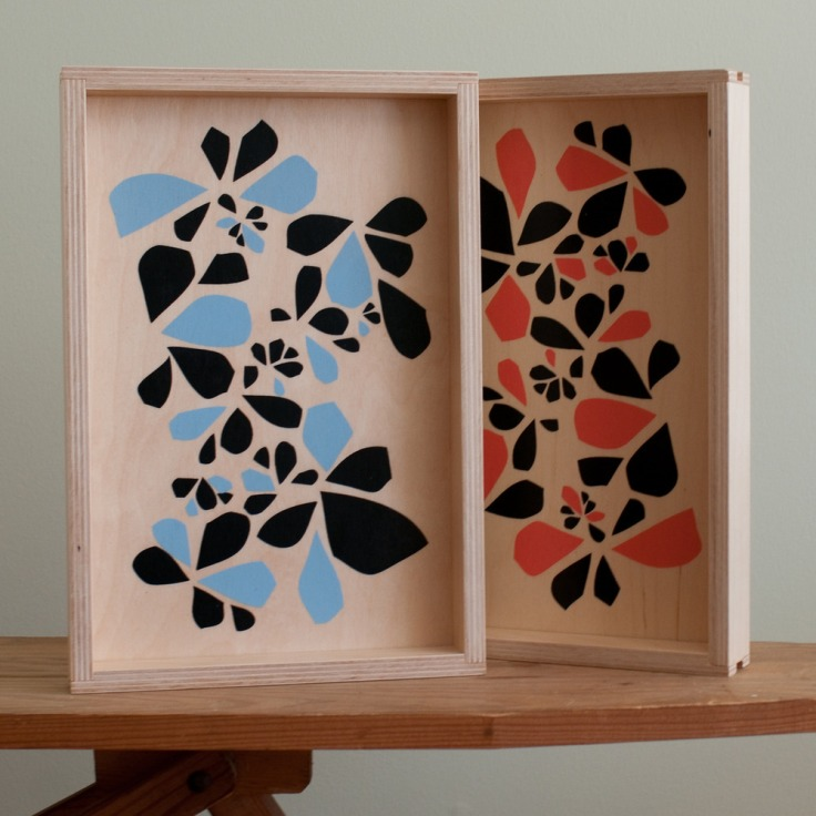 Flora Pattern Small Tray, $58