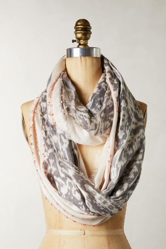 Dotted Giardini Infinity Scarf, $38