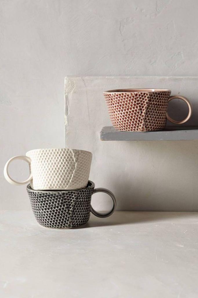 Honeycomb Mug, $12