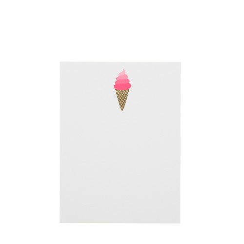 Ice Cream Notebook