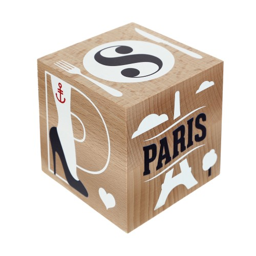 Dandy Wooden Cube, €50