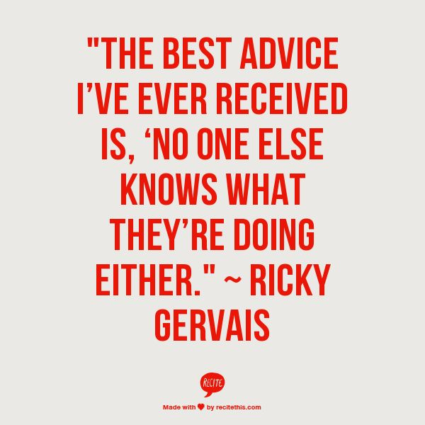 Quote Ricky Gervais