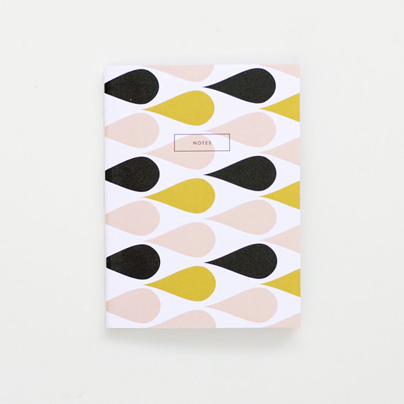 Sunset Note Book, $7