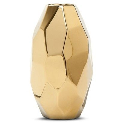 Nate Berkus for Target - Gold Vase, $14