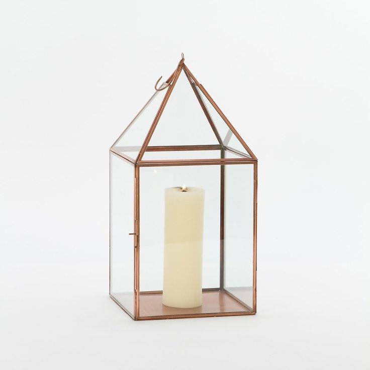 Terrain - Copper Peaked Lantern, $149.95