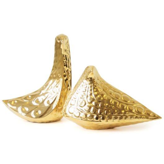 Jonathan Adler - Gold Ceramic Bird, $128