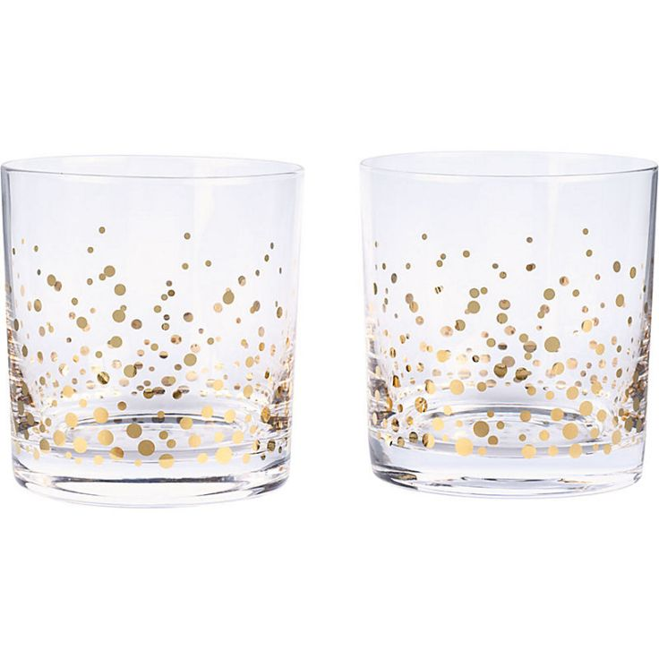 Paper Source - Set of 2 Confetti Tumblers, $19.99