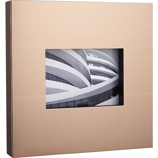 CB2 - kat copper 5x7 frame, $34.95