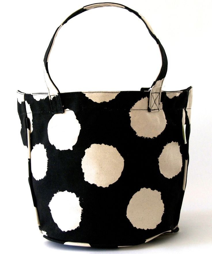See Design - Medium Circle Tote, $40