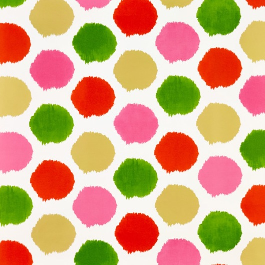 The Container Store - Christmas Ikat Dots, $9.79