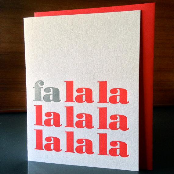 Klee Press - Fa La La, 8/$20
