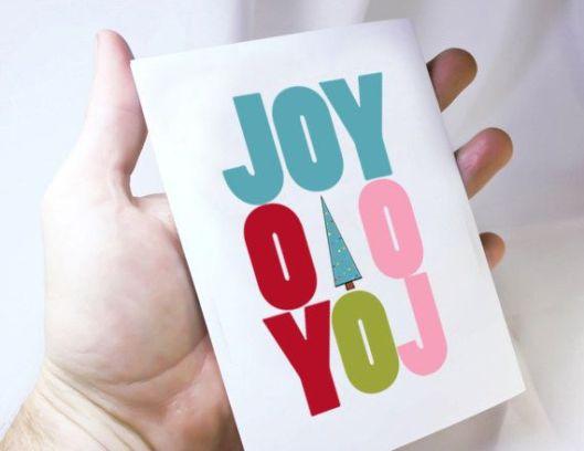 Kat n' Drew Cards - JOY, $4