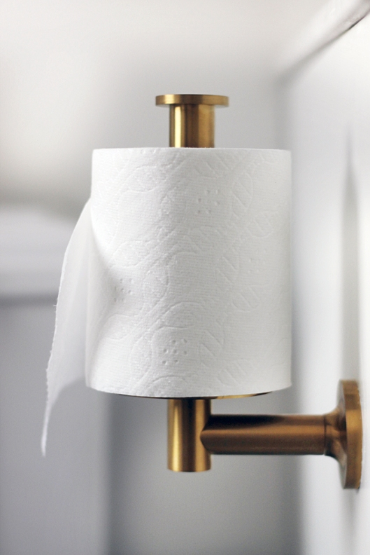Kohler - Gold Toilet Paper Holder, $120