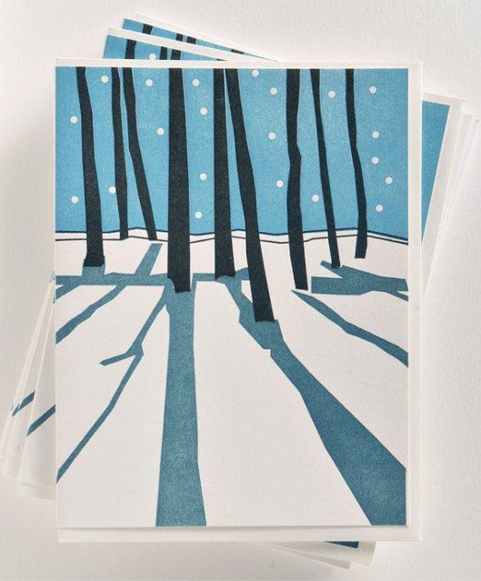 Vandalia Street Press, Trees, 12/$28