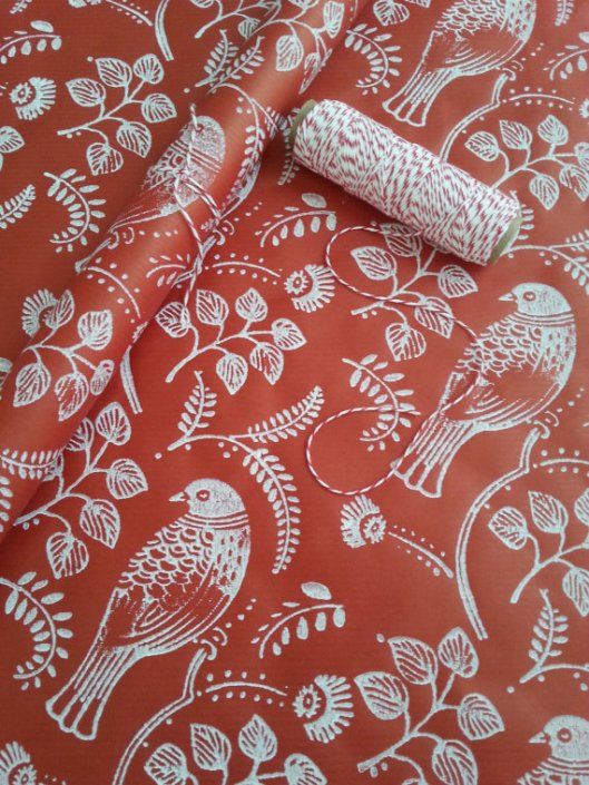 Wrapped by Alice - Red Turtle Dove, $2.90