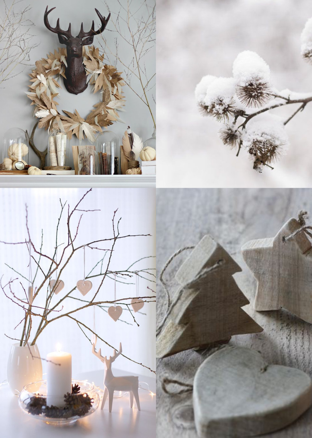 Rustic christmas decorations for Photo christmas decorations