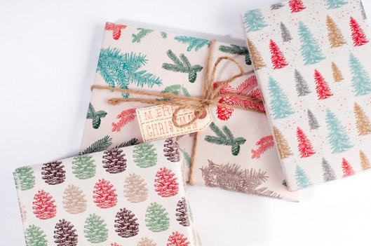 Norman's Printery - Winter Forest, $14 / 12 sheets