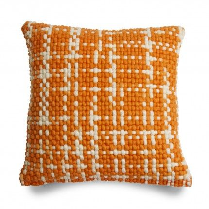 Blu Dot Orange Bubble Pillow, $99