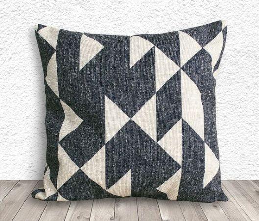 5C Home Decor Geo Pillow Cover, $15