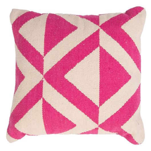 Jaipur Corsica Crystal Pink Throw Pillow, $64
