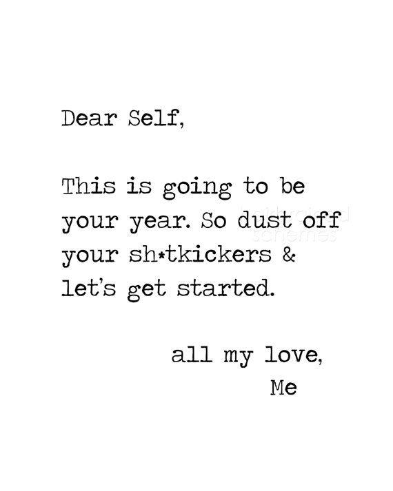 Dear Self
