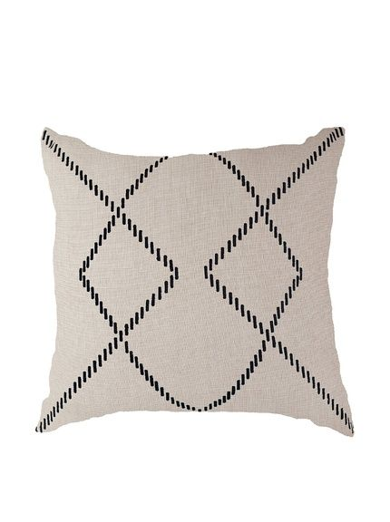 Bandhini Homewear Design Crop Circles Throw Pillow, $178