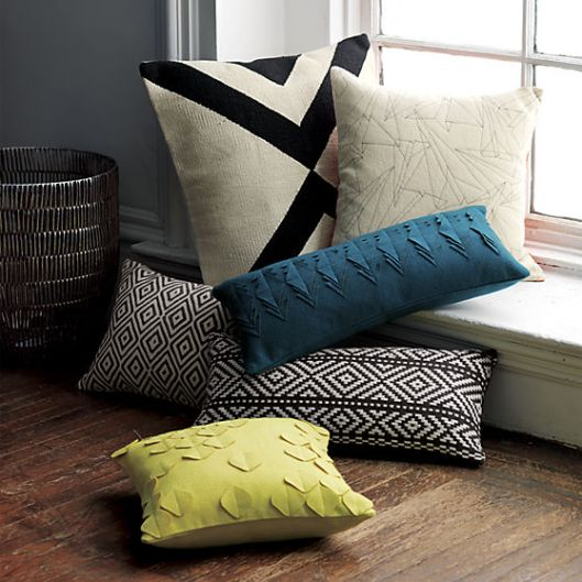 CB2 Pillows, $30  - $44