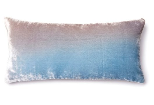 One King's Lane Ombre Velvet Pillow, $55