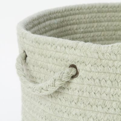 Braided Wool Basket, $98