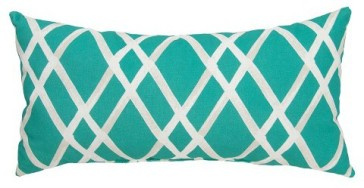 Target - Lattice Outdoor Pillow, $15