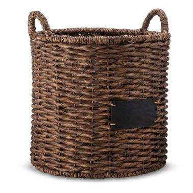 Smith  Hawken - Chalkboard Basket, $39.99