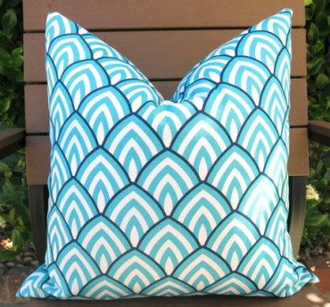 Willa Skye Home - Scallop Outdoor Pillow, $24