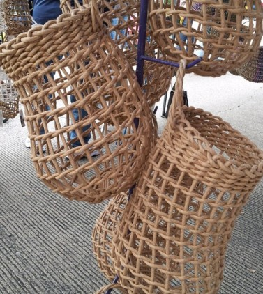 Basketry Botanica, Medium Onion Basket, $38