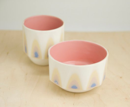 Porcelain Breakfast Set, $70