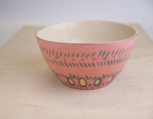 Stoneware Decorative Bowl, $65